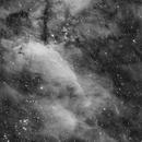 Prawn Nebula - IC4628 in Ha,                                alistairsam