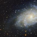 Triangulum Galaxy M33,                                Aaron Lisco
