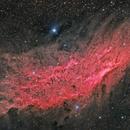 Glowing Red California Nebula NGC 1499 Collaboration,                                Tom Masterson
