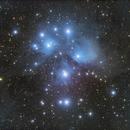 M45 Pleiades – 2018,                                Peter Folkesson
