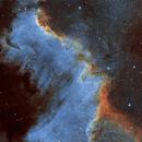 NGC 7000 SHO,                                Le Mouellic Guillaume