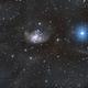 Topsy Turvy galaxy through IFN,                                Geoff