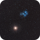 Mars and Pleiades Conjunction,                                primeshooter