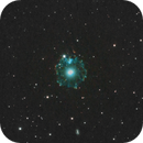 NGC 6543 in Draco,                                Bret Waddington