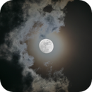 Moon and Clouds,                                YC Lim