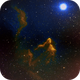 Gamma cas nebula IC59/IC63 (c-sho),                                Ram Samudrala