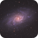 Triangulum Galaxy in LRGB,                                Christopher Scott