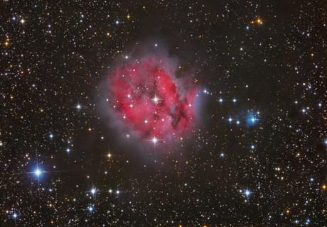 Cocoon Nebula,                                Stefan