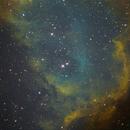 IC1848 - Prima luce Sbig8300,                                Domenico De Luca