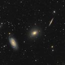 NGC 5982, NGC 5981, NGC 5985  Draco Trio,                                Doug Summers