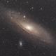 Andromeda with DSLR,                                Gustav Bertelsen