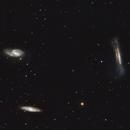 Leo triplet  (M65, M66 & NGC3628) 2021,                                lukfer