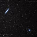 Galáxia do Escultor e NGC288,                                Paulo Antonio dos Santos