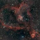 The Heart Nebula,                                Oscar Echeverri