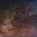 Deneb & North America Nebula - Barn Door Tracker test.,                                Hado