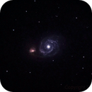 M51 Whirpool Galaxy,                                Francesco Pergolini