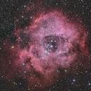 NGC 2237 - NGC 2244 Rosette nebula,                                Jerry@Caselle