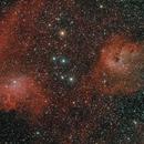 IC405 et IC410,                                Greg Rodriguez
