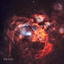 NGC 6357 - THE WAR AND PEACE NEBULA,                                Shaun Robertson