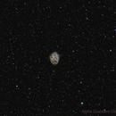 The Crab Nebula in Narrow Band Bi-Colour,                                Chris