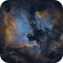 NGC7000 North America Nebula, IC5070 Pelican Nebula,                                rallyho