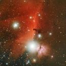 B33 Horshead and Flame Nebulas,                                John Massey
