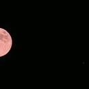 Moon with Jupiter,                                Caspar Schumann