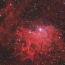 IC405. Flaming Star Nebula,                                Alejandro López