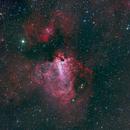 M17 HaRGB Repro,                                Paul Storey
