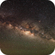Milky Way from Mauna Kea,                                AstroGG