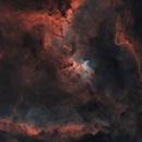 The Heart Nebula in Bicolor,                                lefty7283