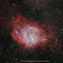 M8 Nebulosa La Laguna,                                Victor Matamoros Alcaino