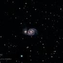 The Whirlpool Galaxy M51,                                astro.bennslens