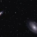 M81 (Bode's Galaxy) and M82 (Cigar Galaxy),                                Tankcdrtim