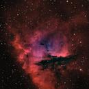 ngc281 (Pacman nebula) HaRGB,                                *philippe Gilberton
