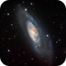 M106, with and without Ha data,                                Colin McGill