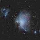 M 42 - Orion Nebula,                                Maël BORDERIE