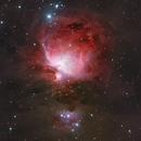M42 Orion Nebula HaRGB,                                Arvid Emtegren