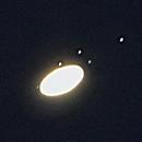 Seven moons of Saturn,                                Dale Hollenbaugh