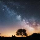 Mars, Saturn, Milky - April 11, 2018,                                Sebastian Voltmer