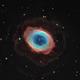 M 57 Nébuleuse de l'anneau en LRVB + Ha,                                Jeffbax Velocicaptor