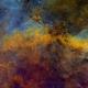 LBN 239 Hubble Palette,                                Eric Coles (coles44)