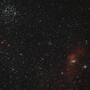 M52 + NGC7635 - bubble nebula,                                BrunoD