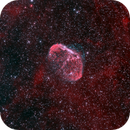 NGC 6888 Crescent Nebula,                                Richard Pattie