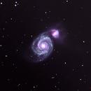 M51 Whirlpool,                                DustSpeakers