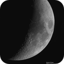 The moon on feb 21th 2018 7days old, 33% lit,                                Wouter D'hoye