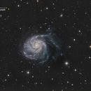 Galaxie du moulinet (M101) - Sadr Espagne,                                Julien Bourdette