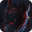 The Witch's Broom Nebula in bi-color (NGC 6960),                                Randal Healey