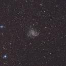 NGC6946 / C12, Fireworks Galaxy,                                Kathy Walker