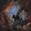 NGC 7000  SHO ,                                Idir Saci